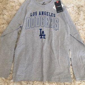 LA Dodgers Long-sleeve Shirt Medium